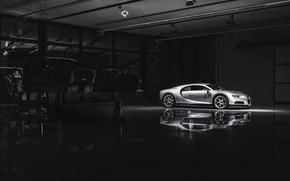 Картинка свет, Bugatti, зал, Chiron