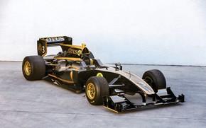 Картинка Lotus, Формула-1, Exos, T125, 2010-11