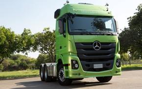 Картинка Mercedes-Benz, кабина, тягач, Actros, 2651