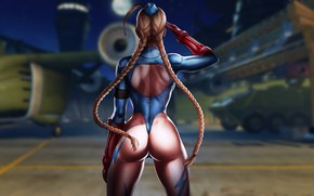Картинка girl, military, games, anime, beautiful, street fighter, illustration, cammy, cammy white