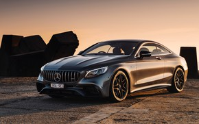 Картинка Mercedes-Benz, AMG, Coupe, 2018, 4MATIC, S63