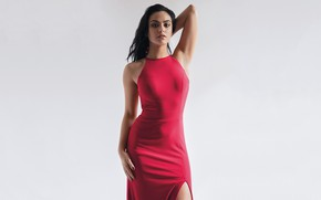 Картинка взгляд, девушка, поза, фигура, красотка, Camila Mendes