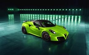 Картинка 2018, Green Arrow, Centurion, Alfa Romeo 4C, Pogea Racing