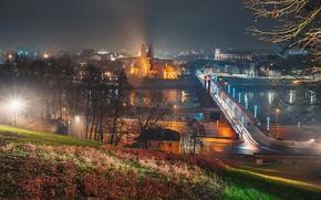 Картинка Lietuva, Kaunas, naktis