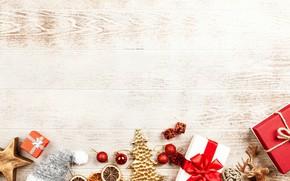 Картинка подарки, Новый год, декор