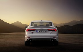 Картинка Audi, Audi A5, корма, 2019, S5 Sportback