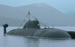 Картинка лодка, подводная, Самара, атомная, Гвардейская