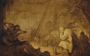 Картинка масло, картина, 1632, Адриан ван де Венне, Adriaen van de Venne, Конец несчастьям