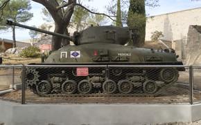 Картинка tank, sherman, provence, sherman tank, toulon