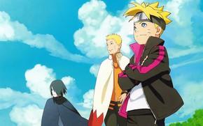 Картинка арт, Саске, Наруто, Naruto, Боруто