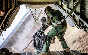 Картинка Солдат, CH-53, Sea Stallion