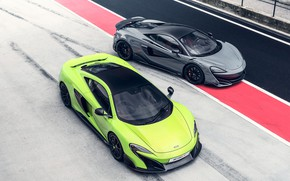 Картинка McLaren, суперкары, 2018, 675LT, 600LT