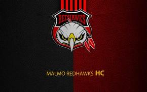 Картинка wallpaper, sport, logo, hockey, Malmö Redhawks