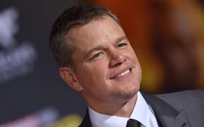 Картинка улыбка, актёр, Matt Damon