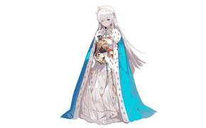 Картинка девушка, мантия, принцесса, королева, Fate / Grand Order, Судьба великая кампания