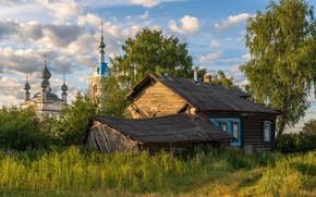 Картинка изба, Ярославская область, русская деревня, Савинское, Andrey Gubanov