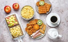 Картинка сладости, разности, кофе, выпечка