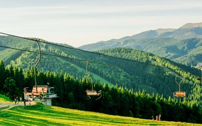 Картинка Україна, Карпати, Буковель, Гори, осінь