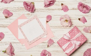 Картинка цветы, праздник, подарок, конверт