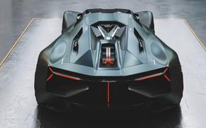 Картинка Авто, Lamborghini, Машина, Арт, Рендеринг, Supercar, Hypercar, Lamborghini Terzo Millennio, Terzo Millennio, Transport & Vehicles, …