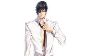 Картинка мужчина, рубашка, парень, Sengoku Basara, Эпоха Смут