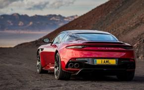 Картинка Aston Martin, DBS, Superleggera, вид сзади, 2018