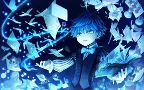 Картинка мальчик, маг, Caster, кастор, Fate EXTRA CCC