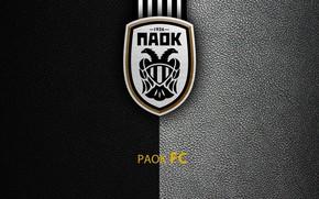 Картинка wallpaper, sport, logo, football, Greek Super League, PAOK