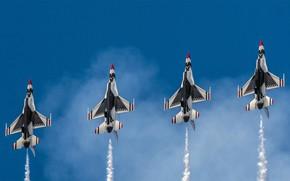 Картинка США, ВВС, эскадрилья, 'Буревестники'