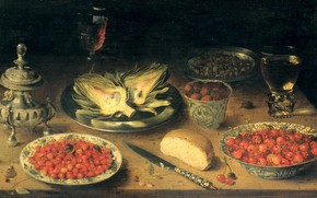 Картинка масло, картина, Натюрморт, Osias Beert, 1624, Осиас Берт Старший