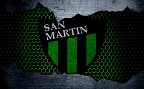 Картинка wallpaper, sport, logo, football, San Martin