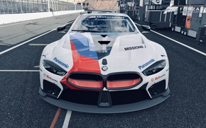 Картинка HDR, BMW, Front, Game, GTE, FM7, UHD, Forza Motorsport 7, 4K, Xbox One X, M8, …