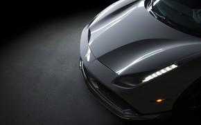 Картинка Light, Ferrari, 458, White, Scuderia, Italia, LED