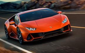 Картинка Lamborghini, суперкар, Evo, Huracan, 2019, Lamborghini Huracan Evo