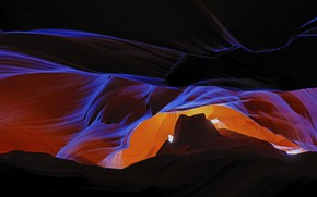 Картинка Аризона, ущелье, США, каньон антилопы