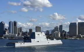 Картинка ship, USS Michael Monsoor, Zumwalt-class