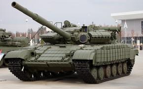 Картинка Танк, Дуло, Танковые Войска, Вооруженные Силы Союза ССР, Т-64БВК, (T-64BVK commander version), Динамическая Защита, Активная …