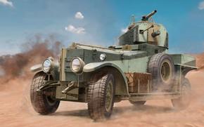 Картинка Rolls-Royce, Бронеавтомобиль, British Army, Великoбритaния