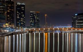 Картинка Melbourne, Yarra River, Australia, Reflections