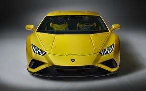 Картинка Lamborghini, вид спереди, Huracan, 2020, RWD, Huracan Evo
