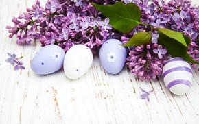 Картинка ветки, яйца, весна, Пасха, сирень, композиция, Olena Rudo