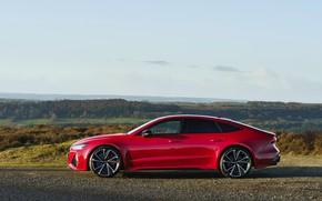 Картинка Audi, сбоку, кузов, RS 7, 2020, UK version, RS7 Sportback