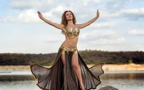 Картинка секси, танец, красотка, Alba Morales