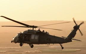 Картинка UH-60, Black Hawk, американский многоцелевой вертолёт, Sikorsky Aircraft