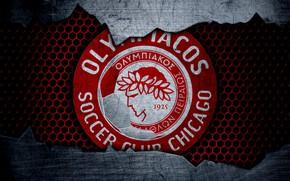 Картинка wallpaper, sport, logo, football, Olympiakos