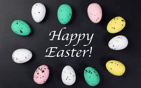 Картинка яйца, Пасха, разноцветные, Easter