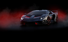 Обои машина, фон, Lamborghini