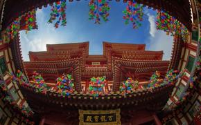 Картинка Сингапур, храм, музей, Buddha Tooth Relic Temple