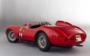 Картинка Ferrari, Classic, 1957, Classic car, Sports car, Ferrari 335 S Spyder