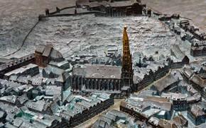 Картинка Германия, Ландсхут, 4-е января, тактильный макет, Международный день Брайля